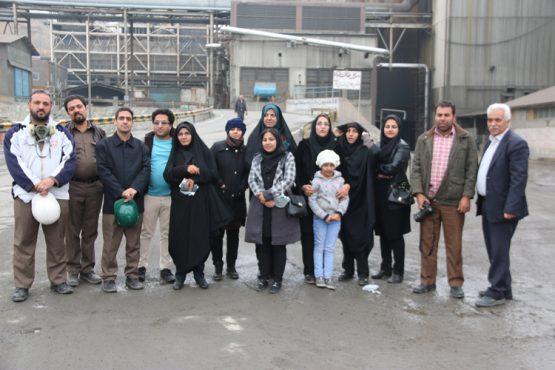 بازدید اصحاب رسانه از کارخانه مس سرچشمه / تصاویر