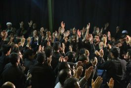 شام غریبان امام رضا(ع) در آستان قدس رضوی رفسنجان /تصاویر