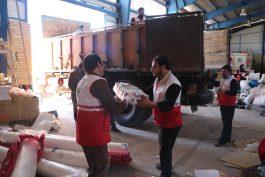 ارسال چهار محموله کمک های مردم رفسنجان به مناطق زلزله زده کرمانشاه + عکس