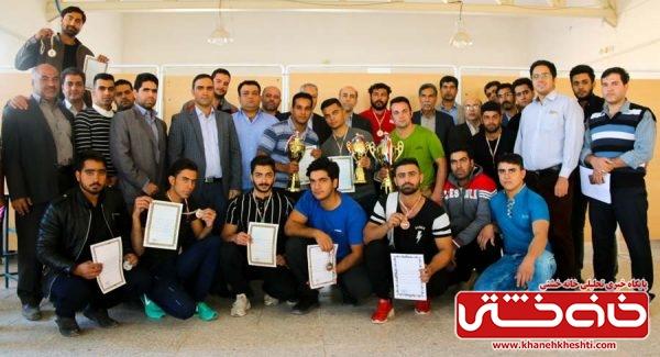 دانشگاه میثاق رفسنجان میزبان مسابقه بین دانشگاهی پاورلیفتینگ/تصاویر