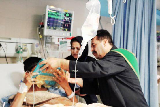 تحفه ای برای بیماران از سرزمین نور