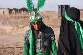 تعزیه خوانی در محمدیه رفسنجان / گزارش تصویری