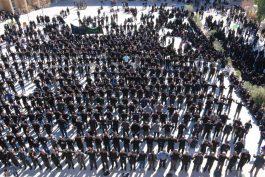 اجتماع عزاداران رضوی در امامزاده سید غریب رفسنجان / تصاویر