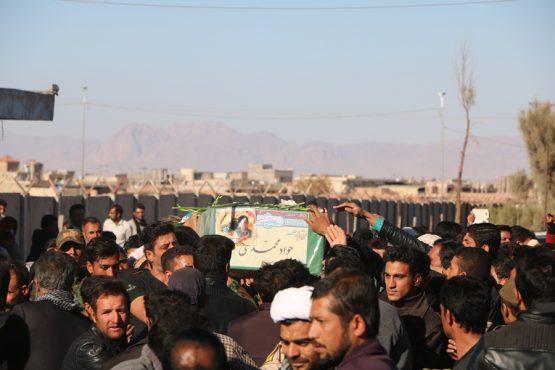 استقبال از شهید مدافع حرم دیگری در رفسنجان / تصاویر