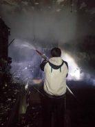 اتش سوزی در یکی از اپارتمان های رفسنجان/تصاویر