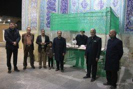 جشن میلاد خادمین افتخاری مسجد مقدس جمکران در مسجد جامع رفسنجان / عکس