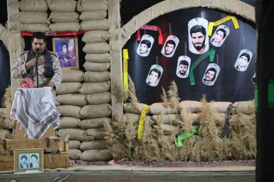 هفدهمین یادواره سردار شهید حاج علی محمدی و همرزمانش برگزار شد / تصاویر