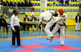 درخشش کاراته کاران رفسنجان در دانشگاه ولی عصر(عج)