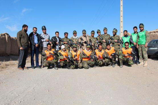 فینال مسابقات چهارجانبه تیمی پینت بال در رفسنجان برگزار شد / تصاویر