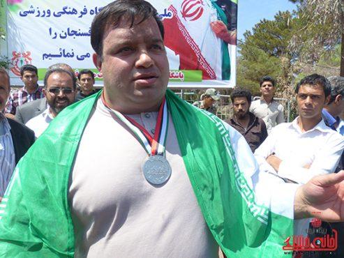 کسب نائب قهرمانی مسابقات وزنه برداری جهان توسط منصور پورمیرزایی