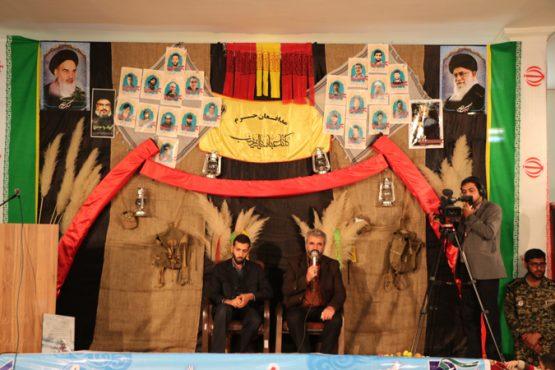 یادواره شهدای مدافع حرم رفسنجان با حضور خانواده شهید حججی برگزار شد / عکس