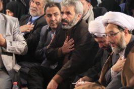 یادواره هجده شهیدمدافع حرم رفسنجان با حضور خانواده شهید حججی در قاب دوربین خانه خشتی