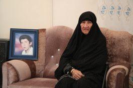 چشمان منتظر مادر شهید خراسانی از راه برداشته شد / تصاویر