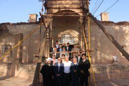 گوشه چشم مسئولین رفسنجان به عمارت مغفول حاج باقری / تصاویر