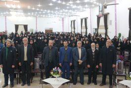 اولین گردهمایی خادمین افتخاری مسجد جمکران در رفسنجان برگزار شد/تصاویر