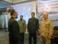 جانشین فرمانده گروه ۶۵توپخانه صاعقه رفسنجان منصوب شد / عکس