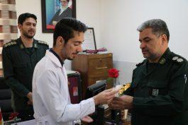 تقدیر فرمانده سپاه رفسنجان از پرستاران / تصاویر