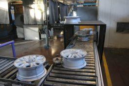 کارخانه تولید رینگ آلومینیوم رفسنجان تولید خود را دو و دو دهم برابر کرد / عکس