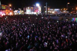 جشن بزرگ انقلاب در رفسنجان برگزار شد/تصاویر