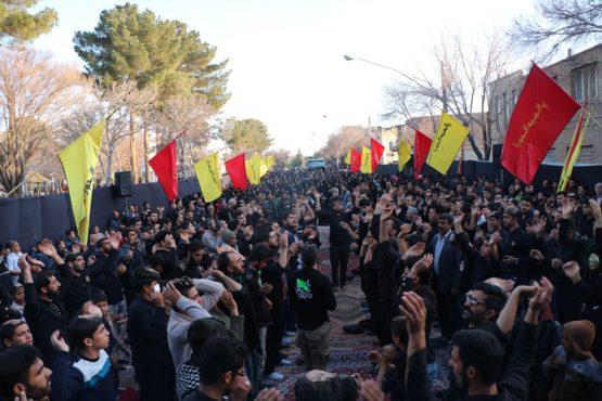 اجتماع بزرگ فاطمیون در رفسنجان برگزار شد+تصاویر