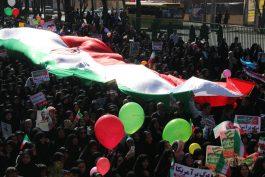 شکوه حضور در راهپیمایی ۲۲ بهمن در رفسنجان / تصاویر