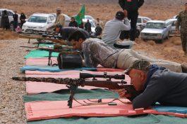 رقابتهای تیراندازی با اسلحه شکاری در رفسنجان برگزار شد /تصاویر