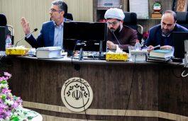 از حاشیه تا متن اولین نشست خبری شهردار و شورای شهر رفسنجان + تصاویر