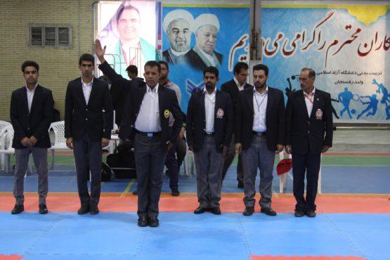 لیگ کاراته شهرستان های استان کرمان به میزبانی رفسنجان برگزار شد / تصاویر