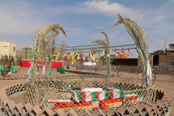 نمایشگاه فرهنگ فاطمی و انقلابی در رفسنجان برپا شد / تصاویر