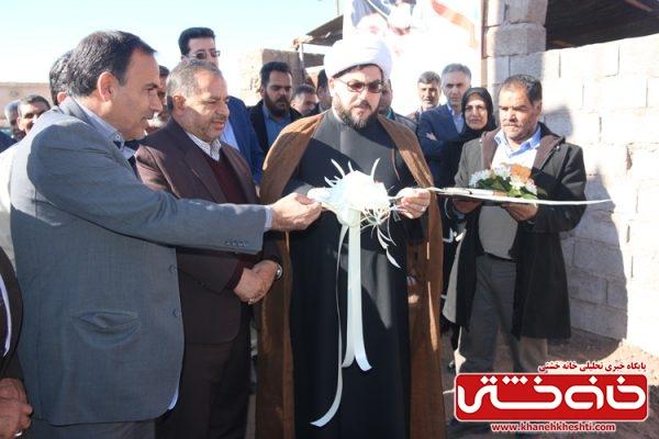 افتتاح طرح آبیاری تحت فشار (قطره ای) در روستای عبدالله آباد با سرمایه گذاری 3/158 میلیار ریال در سطح 26 هکتار