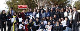 تیم کمیته اتومبیلرانی رفسنجان با اقتدار بر سکوی نخست قهرمانی استان ایستاد