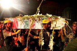 میزبانی هیات کربلا از دو شهید گمنام در رفسنجان / تصاویر