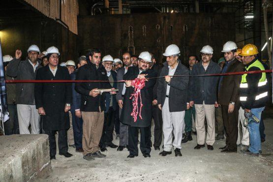 افتتاح طرح های مس سرچشمه رفسنجان توسط وزیرصنعت، معدن و تجارت/ تصاویر