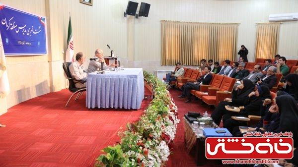 نشست خبری مدیر مس منطقه کرمان