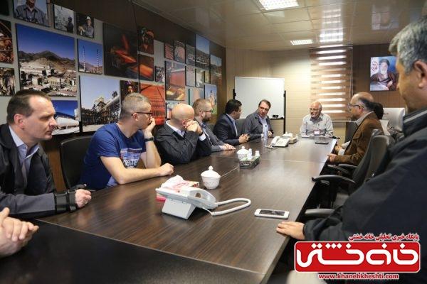 دیدار و بازدید مدیرعامل شرکت KGHM لهستان و جمعی از مدیران تابعه این شرکت از مس سرچشمه