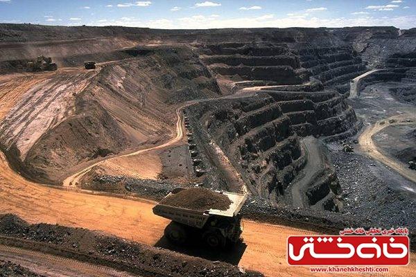 استخراج ۳۵ میلیون تن سنگ سولفور از معادن سرچشمه و میدوک کرمان