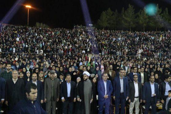 جشن میلاد یاس در طلیعه نوروز در رفسنجان برگزار شد/تصاویر