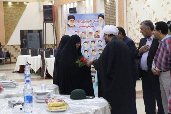خانواده شهدای نیروی انتظامی در رفسنجان تجلیل شدند / تصاویر