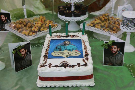 مراسم جشن تولد شهید ابراهیم هادی در رفسنجان برگزار شد + تصاویر