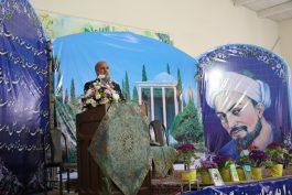 بزرگداشت سعدی شیرازی در رفسنجان / تصاویر