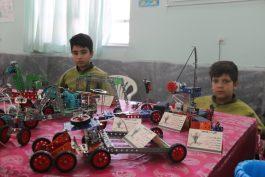 دومین نمایشگاه رباتیک در رفسنجان دایر شد / تصاویر
