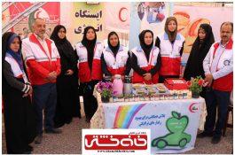 مراجعه بیش از ۶ هزار مسافر نوروزی به پست جمعیت هلال احمر در رفسنجان