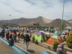 روستای تاریخی اودرج در رفسنجان رتبه اول ورود گردشگر در ایام نوروز ۹۷ را کسب کرد / تصاویر