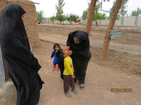 6500 کودک اتباع بیگانه در رفسنجان واکسینه می شوند