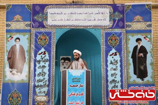 حجت الاسلام حجت بیاضی پور نماینده ولی فقیه در ناحیه سپاه رفسنجان