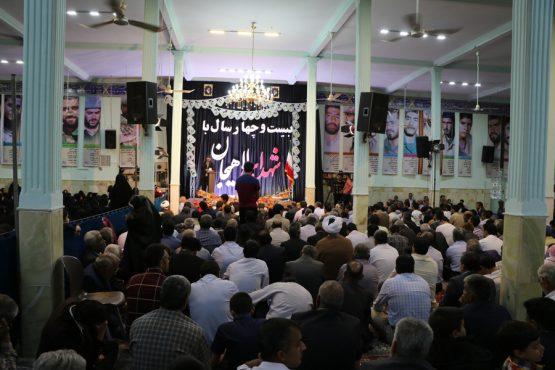 بیست و چهارمین یادواره سرداران و شهدای منطقه لاهیجان رفسنجان برگزار شد + تصاویر