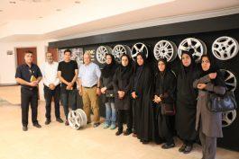 بازدید خبرنگاران از 5 واحد تولیدی در شهرک صنعتی رفسنجان / گزارش تصویری