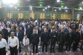 ضیافت افطاری خادمین افتخاری مسجد مقدس جمکران در رفسنجان / تصاویر
