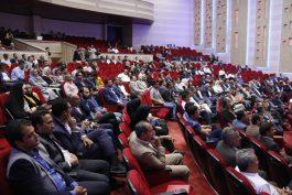 همایش مهندسان،فرمانداران،نمایندگان،رؤسای شورا و شهرداران استان کرمان در رفسنجان برگزار شد/تصاویر