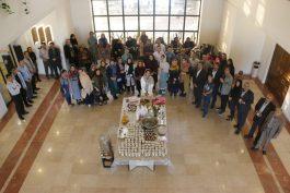 هنر کده رعنا در رفسنجان افتتاح شد / عکس